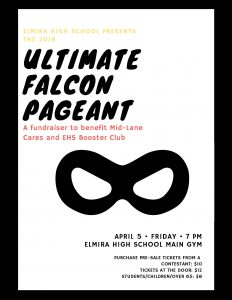 Ultimate Falcon Pageant Flyer