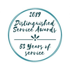 Distinguished Service Awards Logo 2019